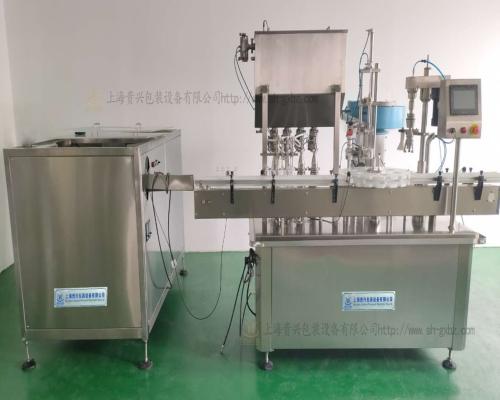 洗手液灌装机包装生产线