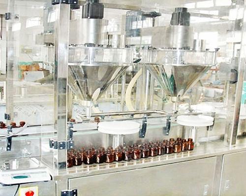 直线式粉剂灌装机