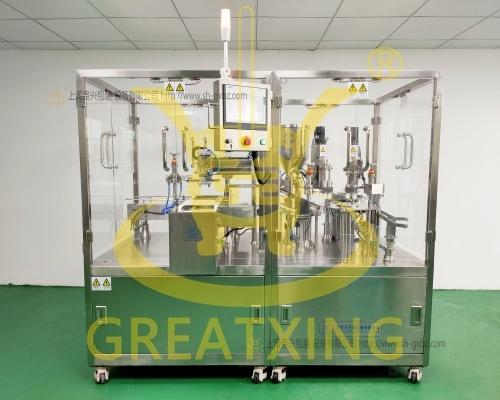 全自动预灌封注射器抽真空灌装加塞机