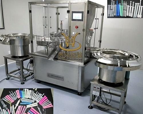 Gynecological gel filling machine
