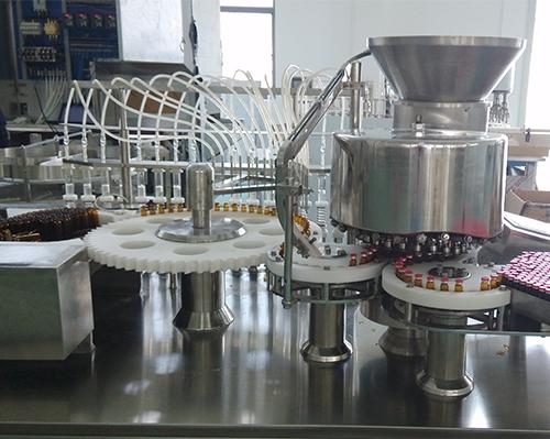 Oral liquid filling capping machine