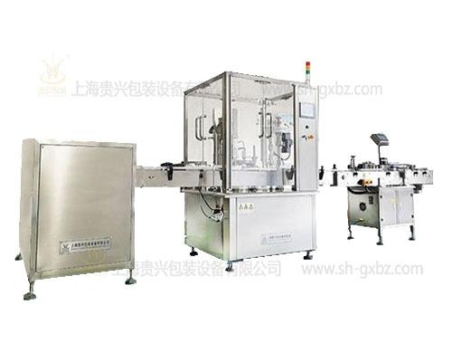Powder filling production line