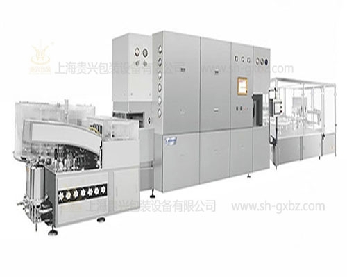 Production linkage line for filling and capping of penicillin bottle powder