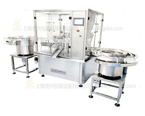 Gynecology gel three piece filling machine