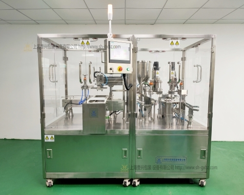 Full automatic pre filling syringe vacuum filling and filling machine