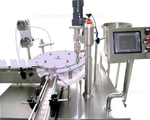 Biochemical reagent filling machine